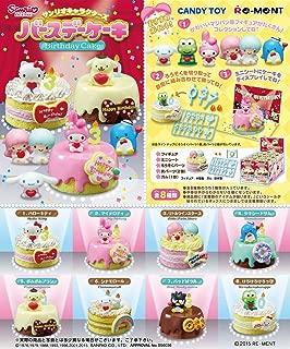 Re-ment Sanrio Character Birthday Cake Full Set Box (Set of 8)