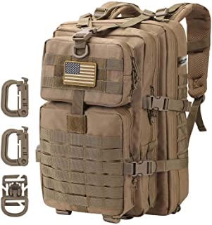 Sponsored Ad - Hannibal Tactical MOLLE Assault Pack, Tactical Backpack Military Army Camping Rucksack, 3-Day Pack