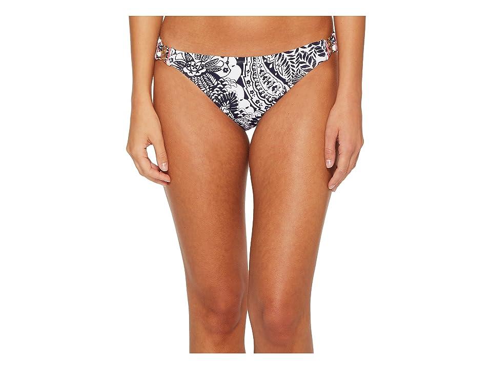 Tommy Bahama Paisley Paradise Hipster Bikini Bottom (Mare Navy) Women