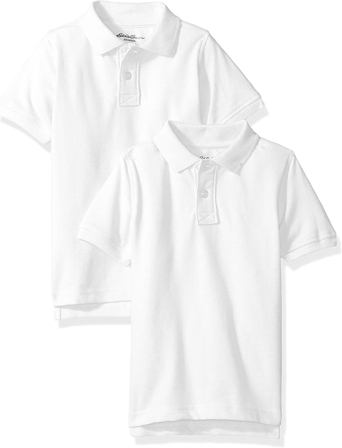Eddie Bauer Boys' 2 Pack Polo Shirt (More Styles Available)