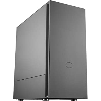 Cooler Master Silencio S600 ATX Mid-Tower, Sound-Dampened Steel Side Panel, Reversible Front Panel, SD Card Reader, and 2X 120mm PWM Silencio FP Fans