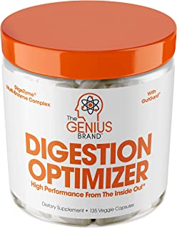 Genius Digestive Enzymes for Digestion & Total Wellness | Restore Gut Heath w/ Bromelain, Ginger Root & Pre...