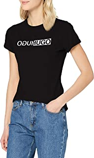 HUGO Women's The Slim Tee 4 10225143 01 T-Shirt