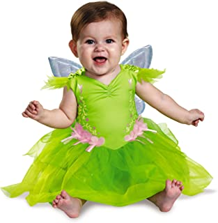 Disney Disguise Baby Girls` Tinker Bell Deluxe Infant Costume