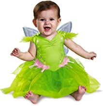 Disney Disguise Baby Girls' Tinker Bell Deluxe Infant Costume