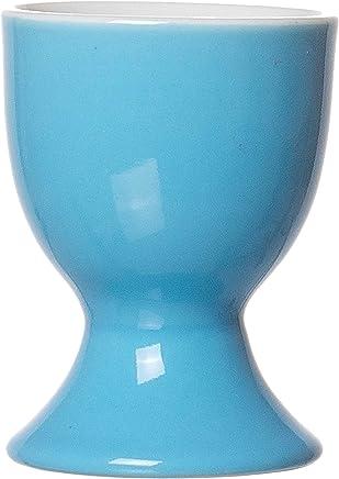 Preisvergleich für Ritzenhoff & Breker Doppio Eierbecher, Ei Becher, Eierhalter, Geschirr, Porzellan, Hellblau, 5 cm, 544107