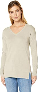 Women's Lightweight V-Neck Tunic Sweater