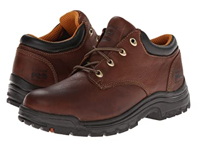 Timberland PRO TiTAN(r) Oxford Soft Toe (Haystack Brown Oiled Full-Grain Leather) Men