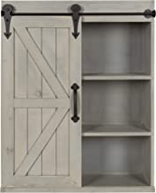 wall shelves with sliding doors