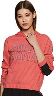 PUMA Women's Feel It Hoodie Nrgy Rose Heather