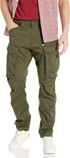 G-Star Raw Men's Rovic Zip 3D Straight Tapered Fit Casual Pants