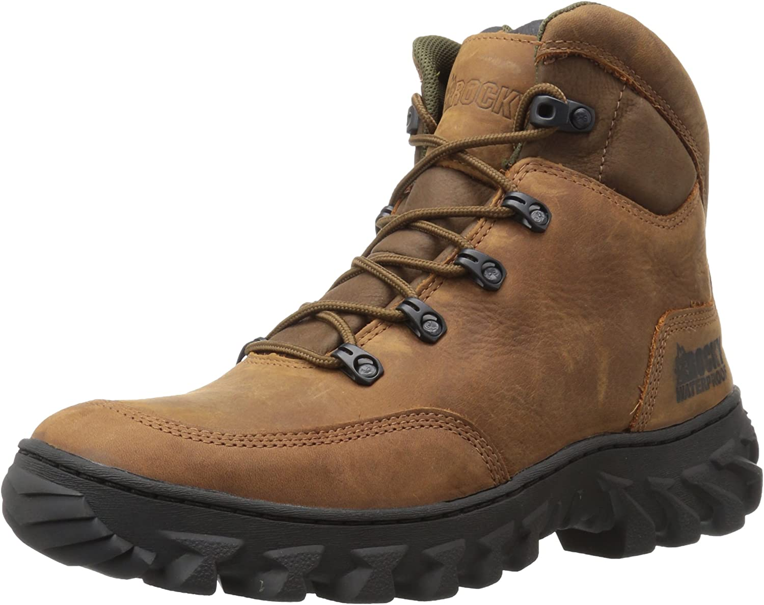Rocky Men's RKK0229 Construction Boot Brown