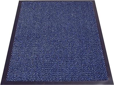 miltex Door Mat Polypropylene, Polypropylene, Blue, 60 x 90 cm