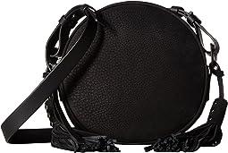 The Kepi Leather Round Crossbody