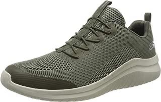 Skechers 斯凯奇男式 Ultra Flex 2.0 – Kelmer 运动鞋 Green (Olive Engineered Mesh/Synthetic/Trim Old) 9.5 UK