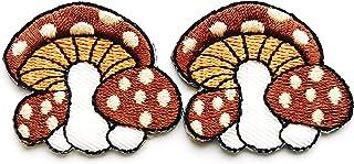 Mushroom Iron On Patch