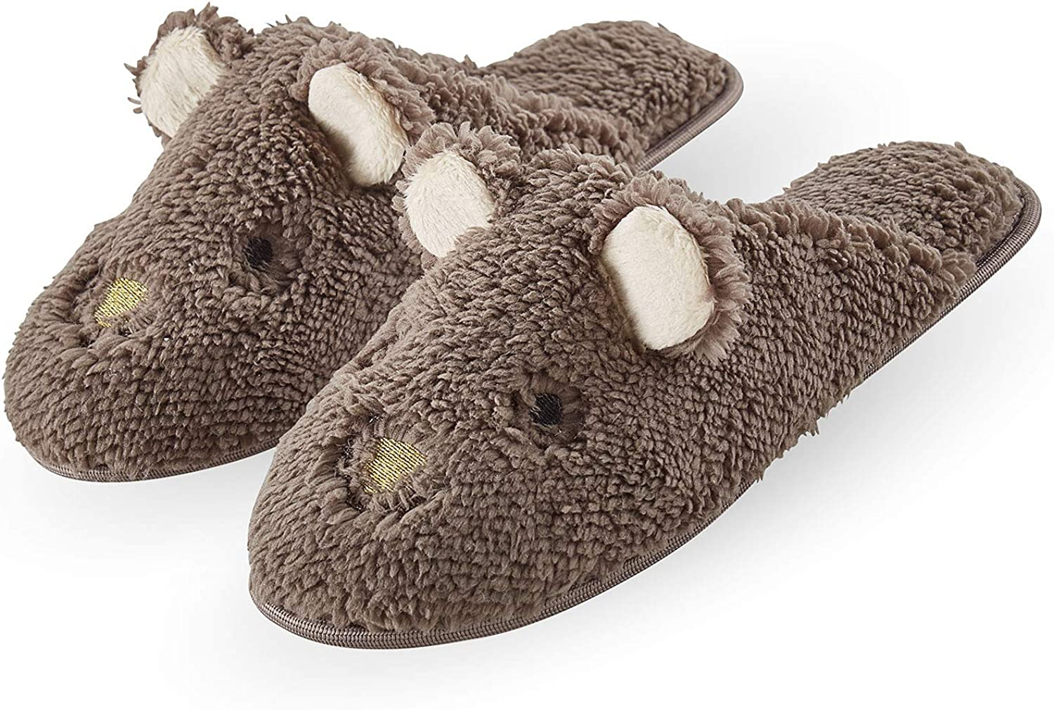 HUE Women's Fashion Slide Slippers with Hard Sole