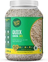 Yogabar Ready to Cook Oats 800g   Premium Oats, Gluten Free Oats with High Fibre, 100% Whole Grain, Non GMO, No Added Suga...