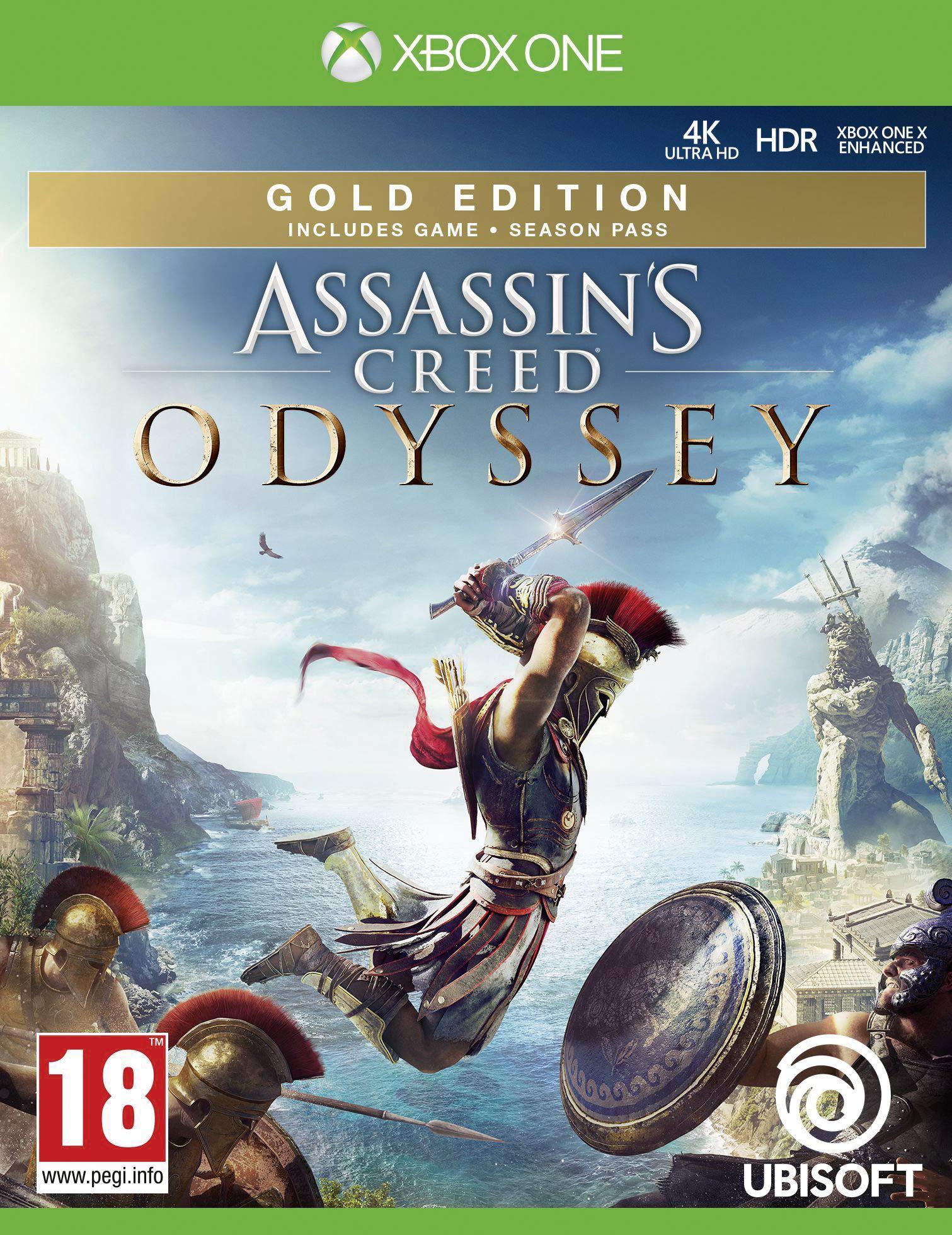 Assassins Creed Odyssey Gold Edition - Xbox One [Importación inglesa]: Amazon.es: Videojuegos