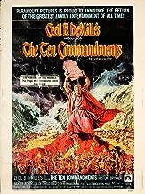 The Ten Commandments 1972 Authentic 30
