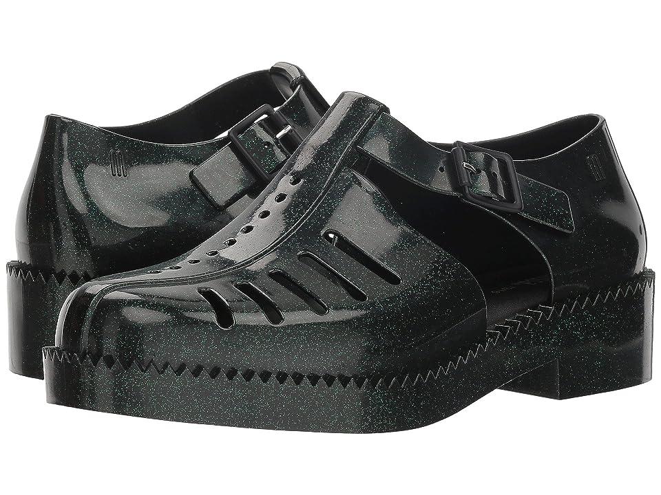 Melissa Shoes Aranha 79 16 (Green/Mint Glitter) Women
