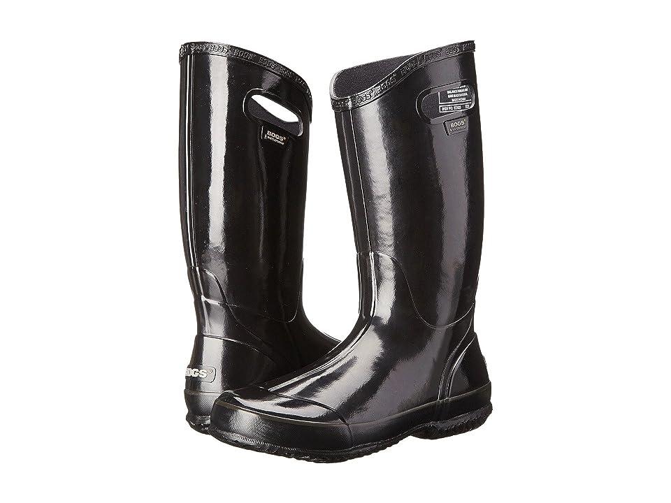 Bogs Classic Glosh Rainboot (Black 1) Women
