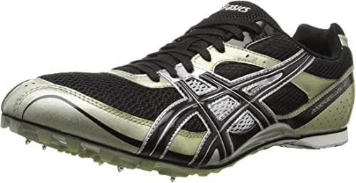 ASICS Men's Hyper MD Track And Field chaussures,noir Onyx argent,12 M