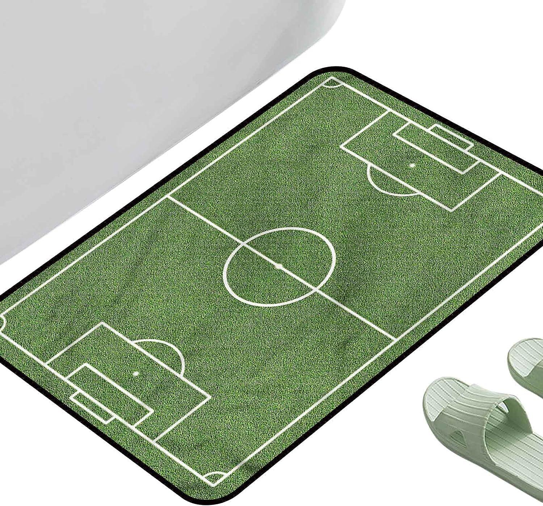 Print New mail order Floor Mats Memphis Mall Bedroom Carpet Teen Soccer Room Field Stadium 4