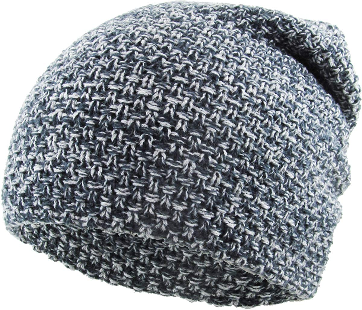 Waffle Knit discount Lightweight Slouchy Beanie Skull Style Gorgeous Win Cap Baggy