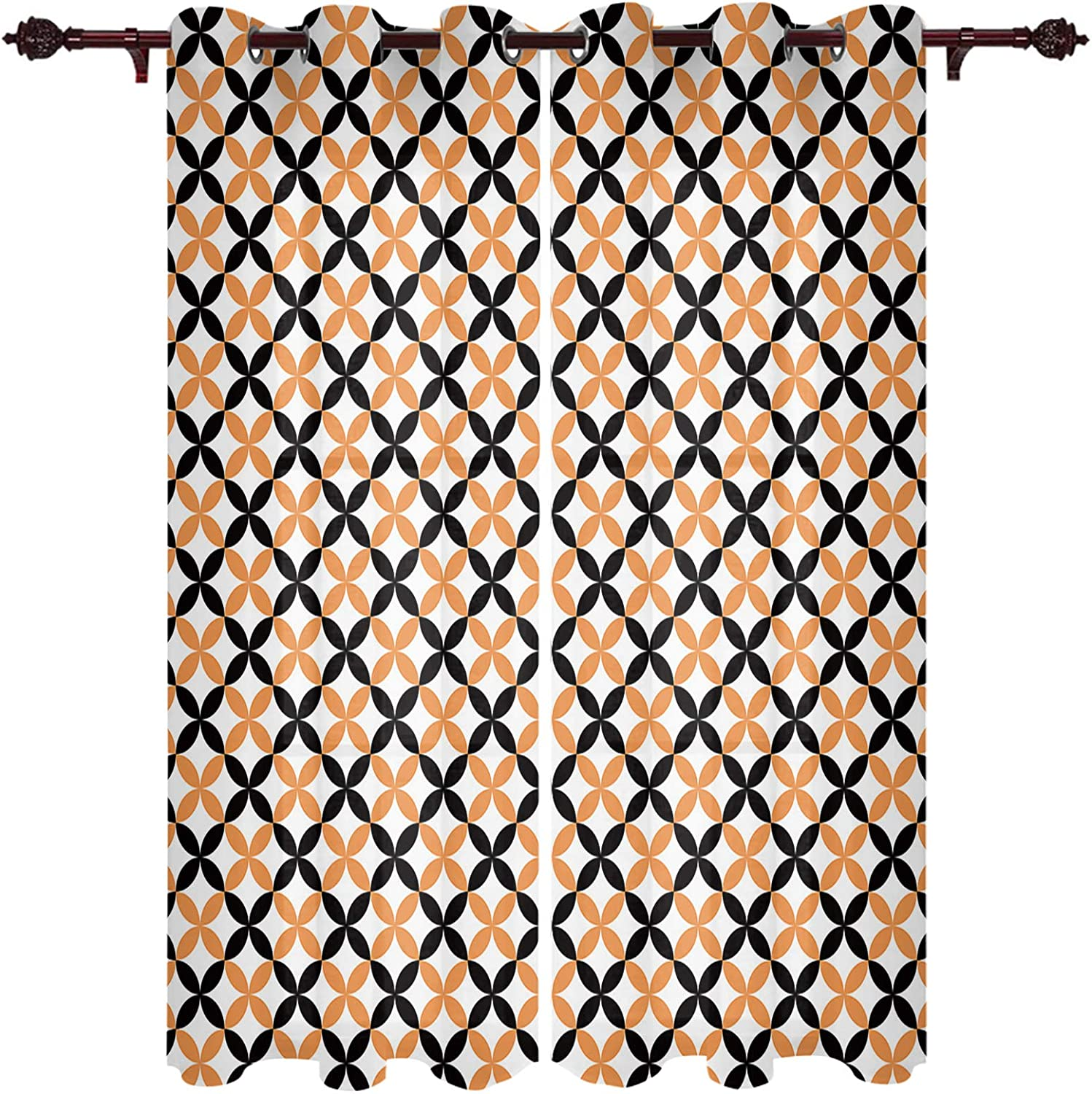 High quality new Ranking TOP10 Semi Sheer Curtain Window Treatment Panels Ro for Living