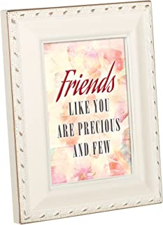 Cottage Garden Friends Like You Precious Few Ivory Gold Rope 2 x 3 Magnetic Tiny Photo Frame