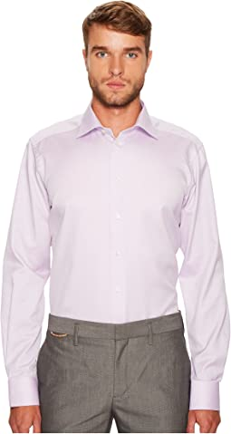 Contemporary Fit Herringbone Shirt