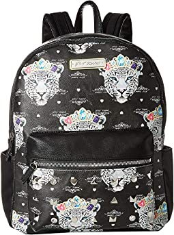 Snow Queen of the Jungle Print Backpack