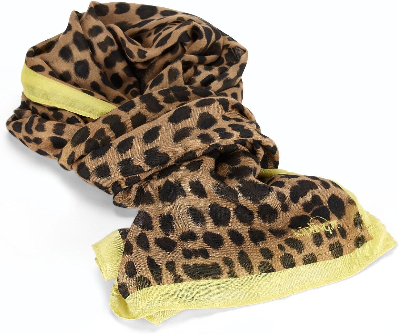 Kipling Woven Scarf Fashion Leopard