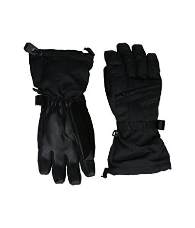 Burton Kids Vent Gloves (Little Kids/Big Kids) (True Black) Extreme Cold Weather Gloves