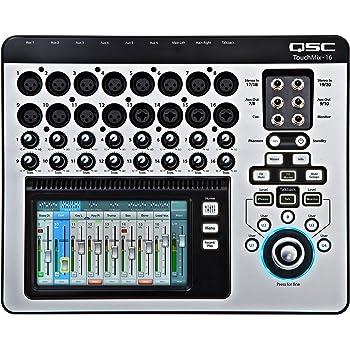 QSC TouchMix-16 Compact Digital Mixer with Bag