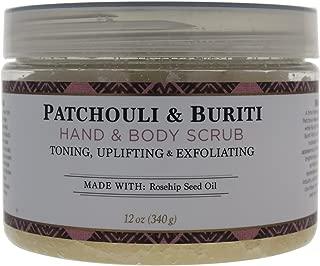 Nubian Heritage Patchouli & Buriti Hand & Body Scrub, 12 Ounce