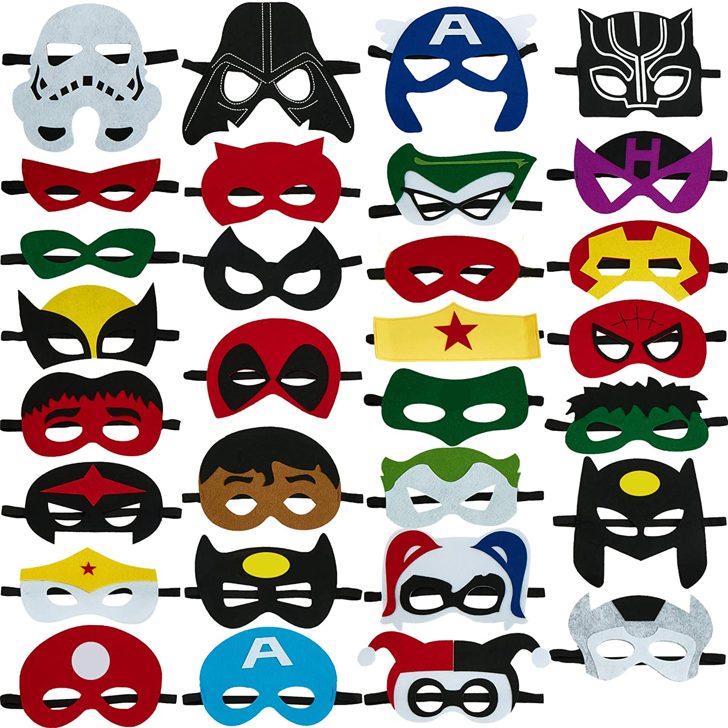Totteri Superhero Masks Party Max 76% OFF Favors for Low price Birthday Kids Costumes