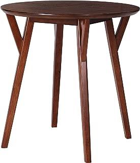 Furniture HotSpot – Round Dining Table/Bistro Table – Dark Sienna - 30