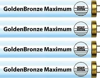 Wolff System GoldenBronze Maximum F71T12 100W Bipin Tanning Bulbs - Intense Bronze (16)