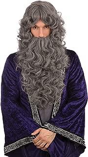 santa beard and wig set uk