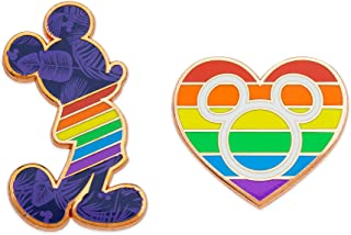 Best mickey mouse rainbow pin Reviews
