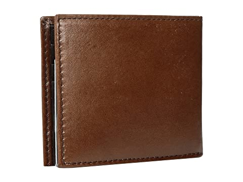 Ariat Bifold Floral Relieve Monedero Marrón En q5CZnd