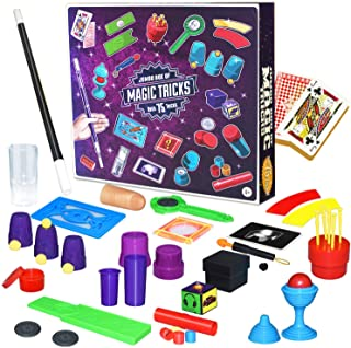S & E TEACHER'S EDITION Magic Tricks Kit, 75 Magic Tricks for Beginners or Kids.