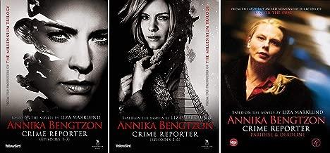 Annika Bengtzon Crime Reporter: Complete 8 Film Helena Bergstrom and Malin Crepin Movie Series DVD Collection