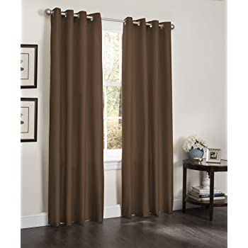 VCNY Home McKenzie Window Treatment Panels 42x63 Grey