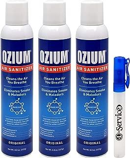 ozium 804281 4 smoke & odors eliminator gel
