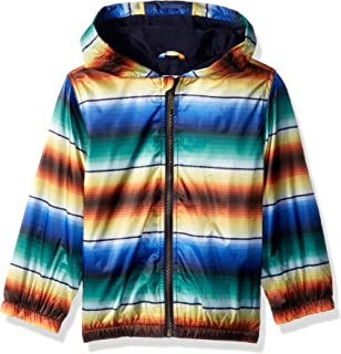 Gymboree Boys' Big Hooded Lined Windbreaker