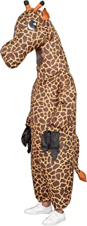 Giraffe Inflatable Chub Suit Halloween Costume Cosplay Jumpsuit