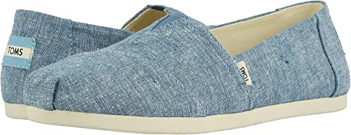 Blue Slub Chambray